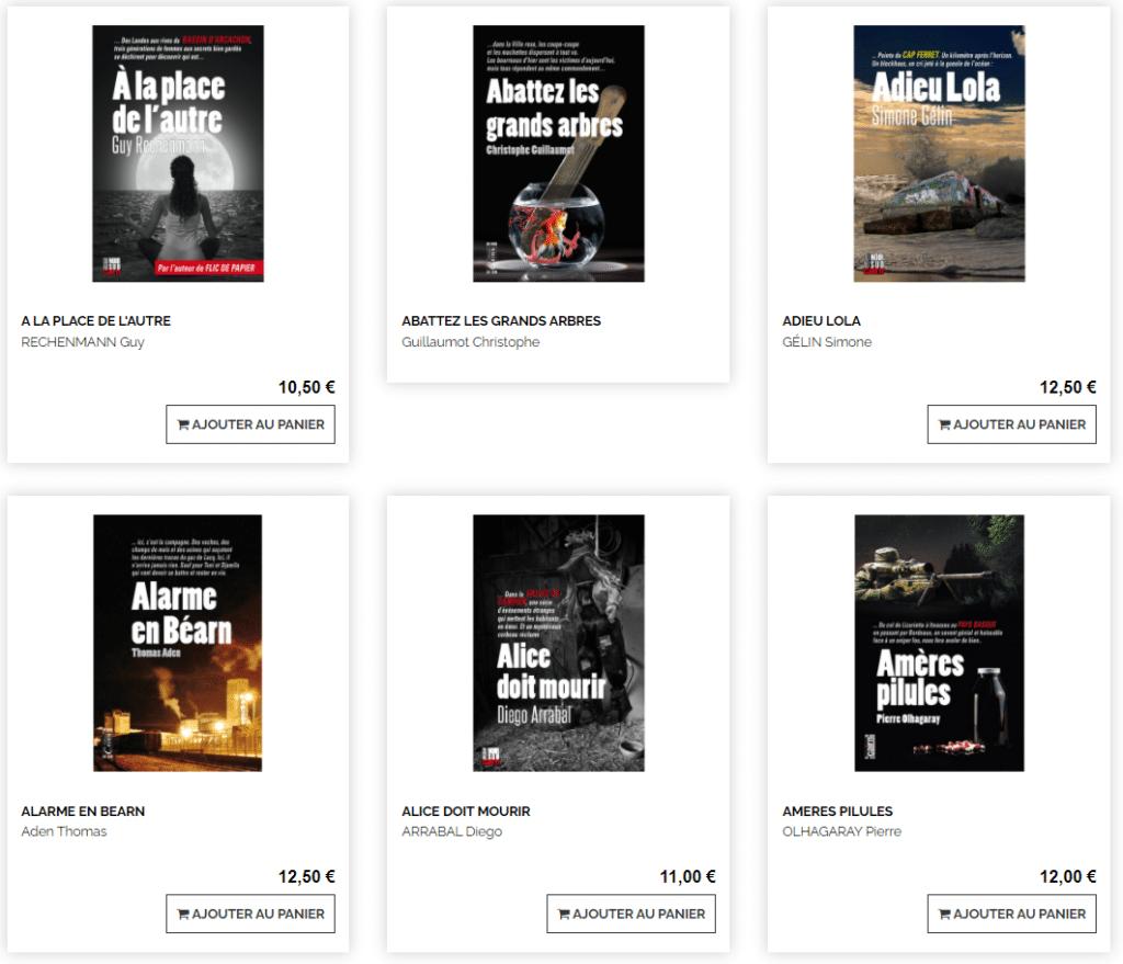 Collection Du Noir au Sud - Editions Cairn