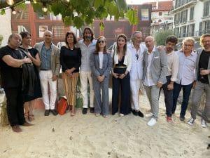 Membres du jury Prix Maison Rouge Biarritz